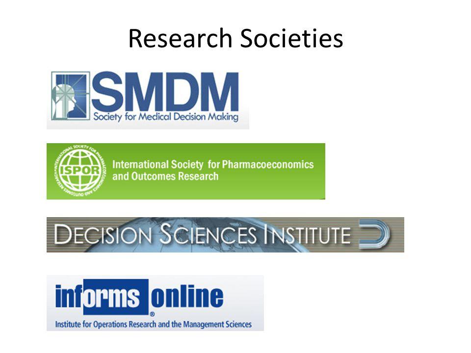 Research Societies