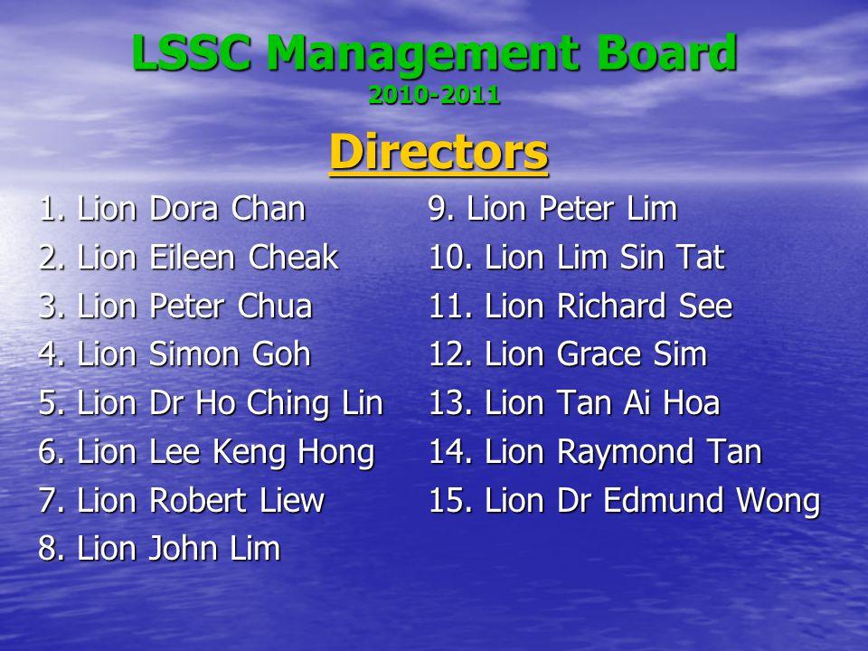 LSSC Management Board 2010-2011