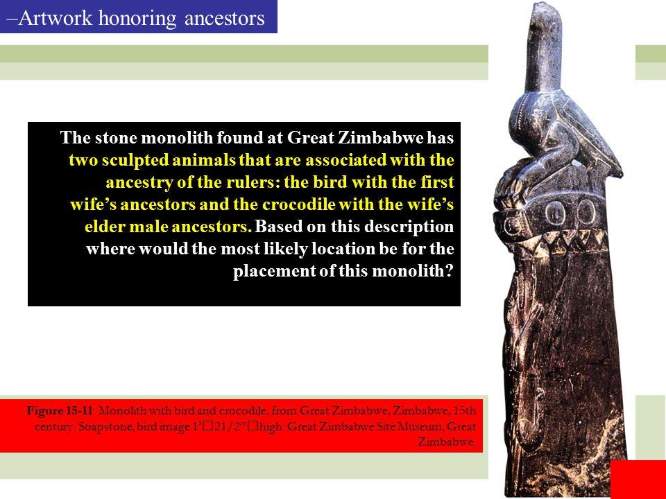 Artwork honoring ancestors