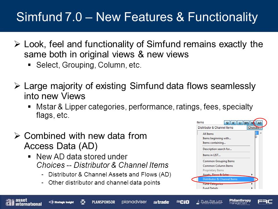 Simfund 7.0 – New Features & Functionality