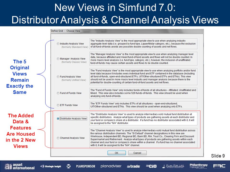 Distributor Analysis & Channel Analysis Views