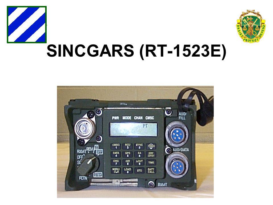 SINCGARS (RT-1523E)