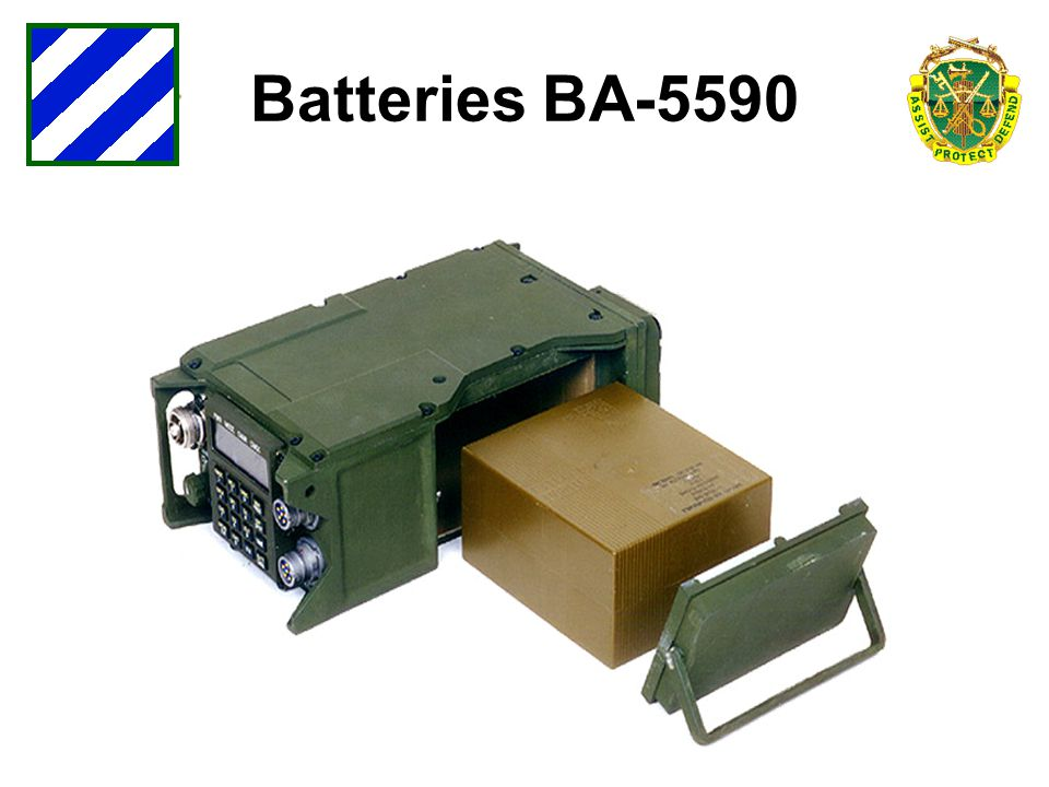 Batteries BA-5590