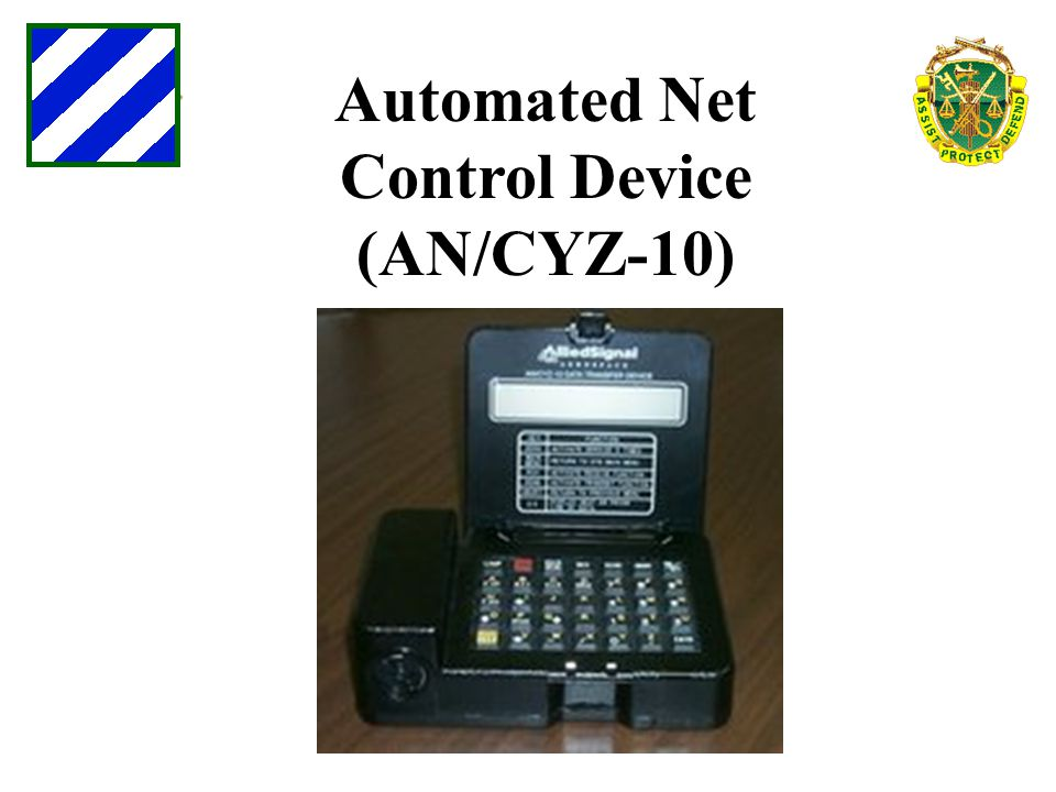 Automated Net Control Device (AN/CYZ-10)
