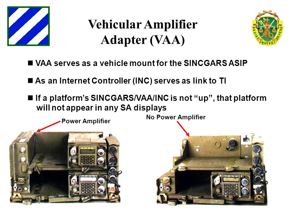 Vehicular Amplifier Adapter (VAA)
