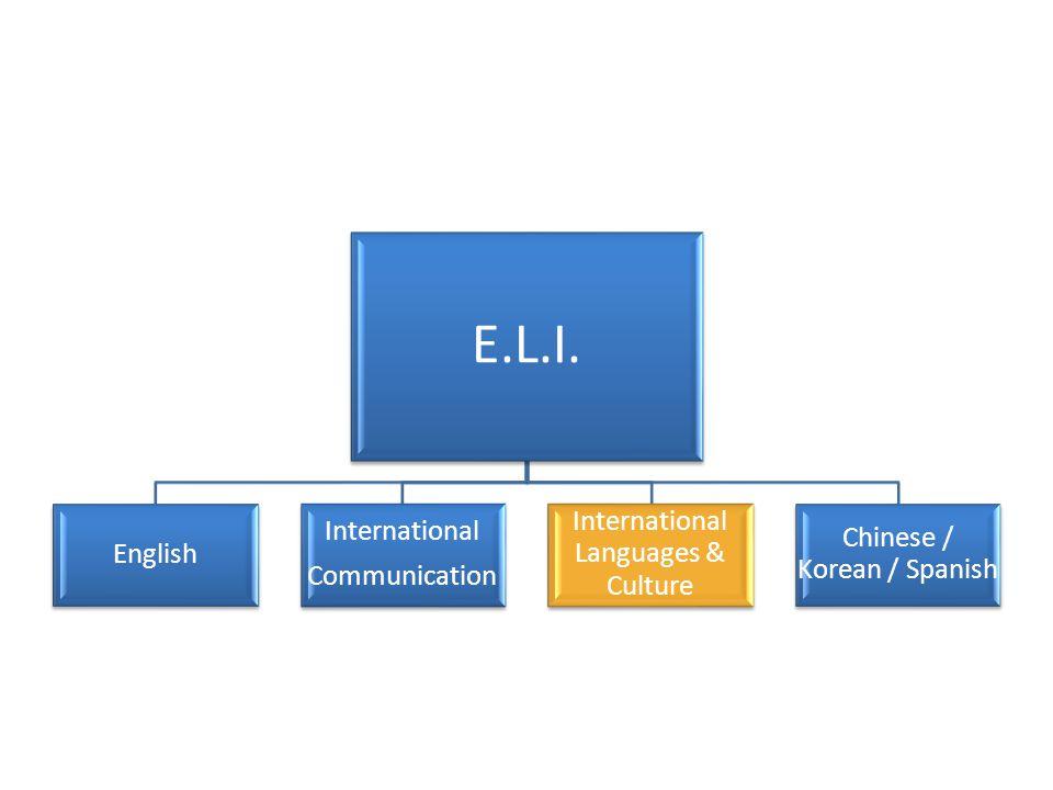 E.L.I. International Languages & Culture International