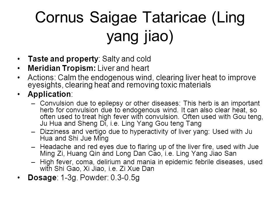 Cornus Saigae Tataricae (Ling yang jiao)
