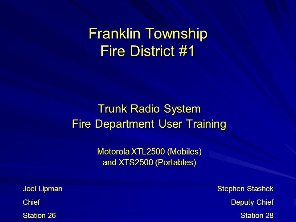 Franklin Township Fire District #1