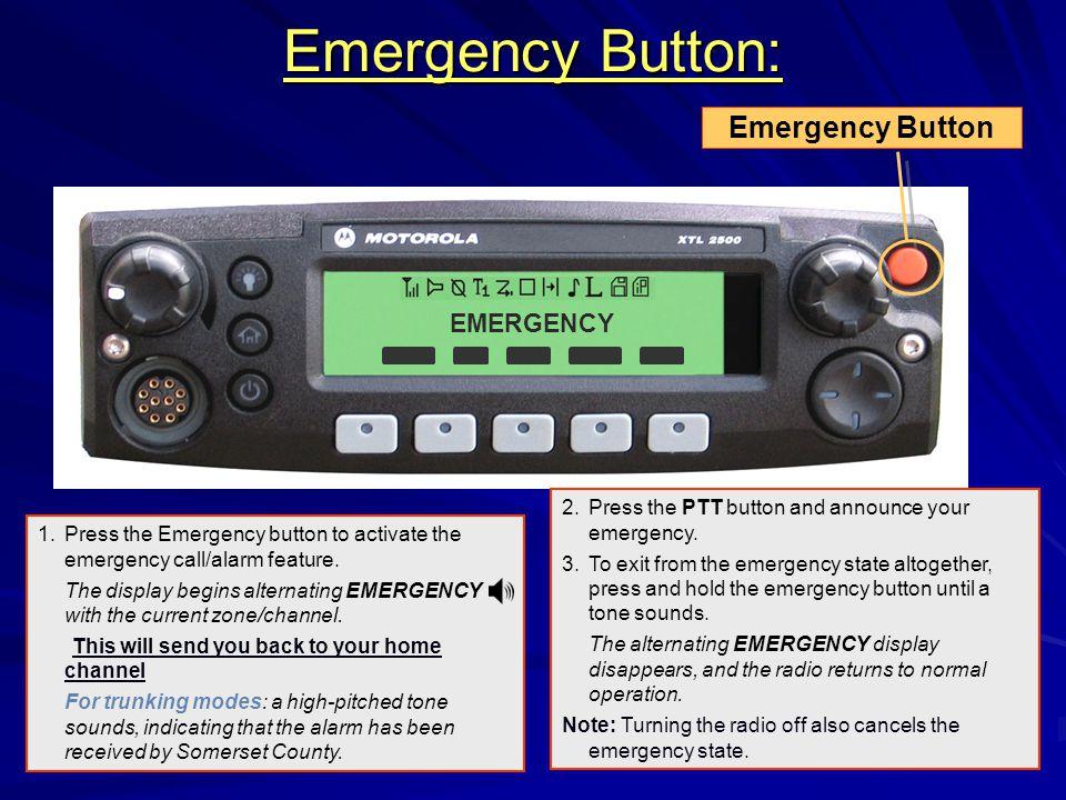 Emergency Button: Emergency Button EMERGENCY
