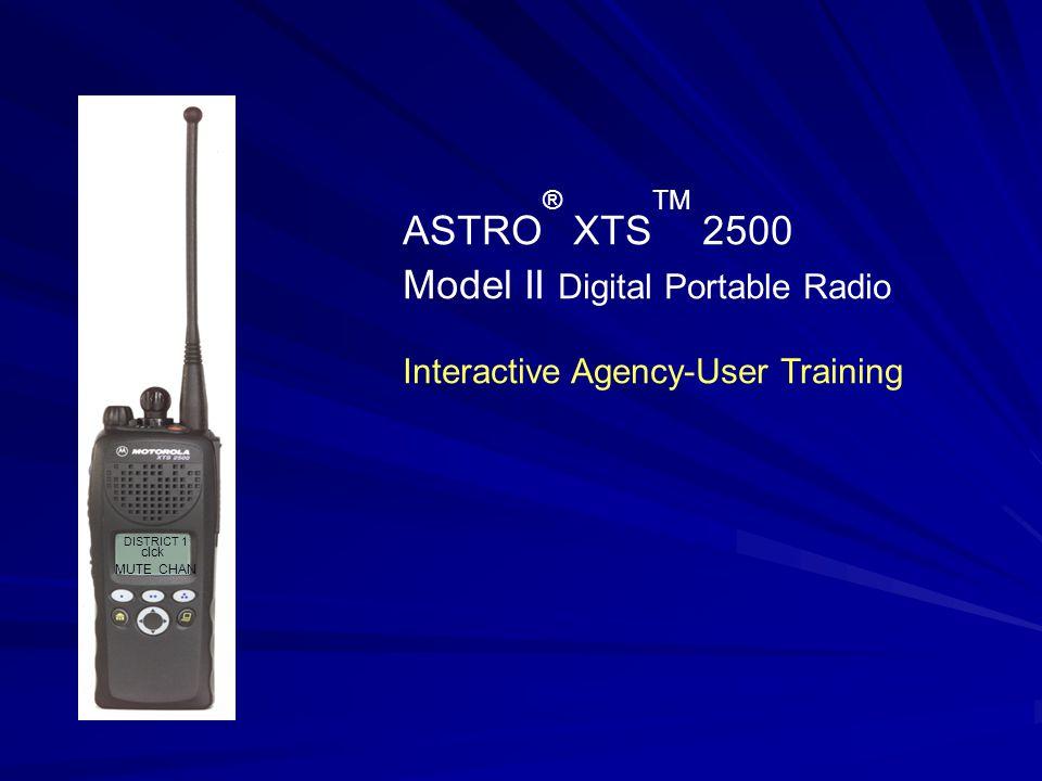Model II Digital Portable Radio