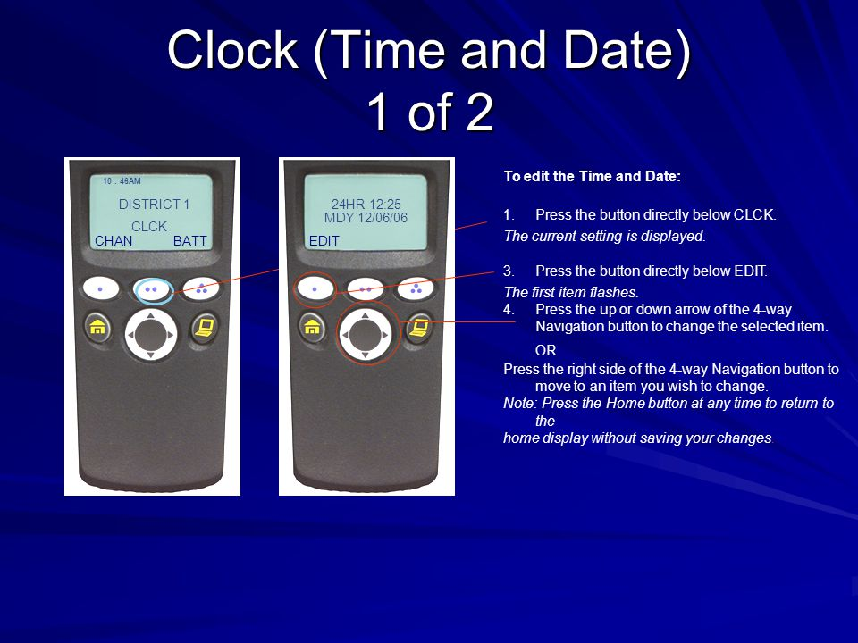 Clock (Time and Date) 1 of 2