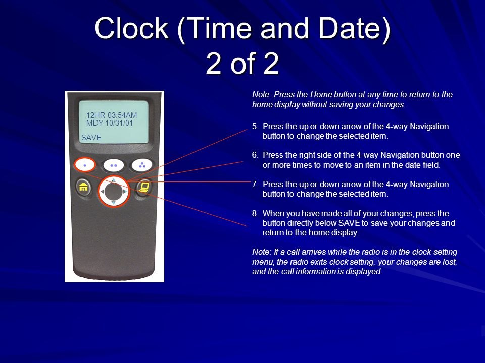 Clock (Time and Date) 2 of 2