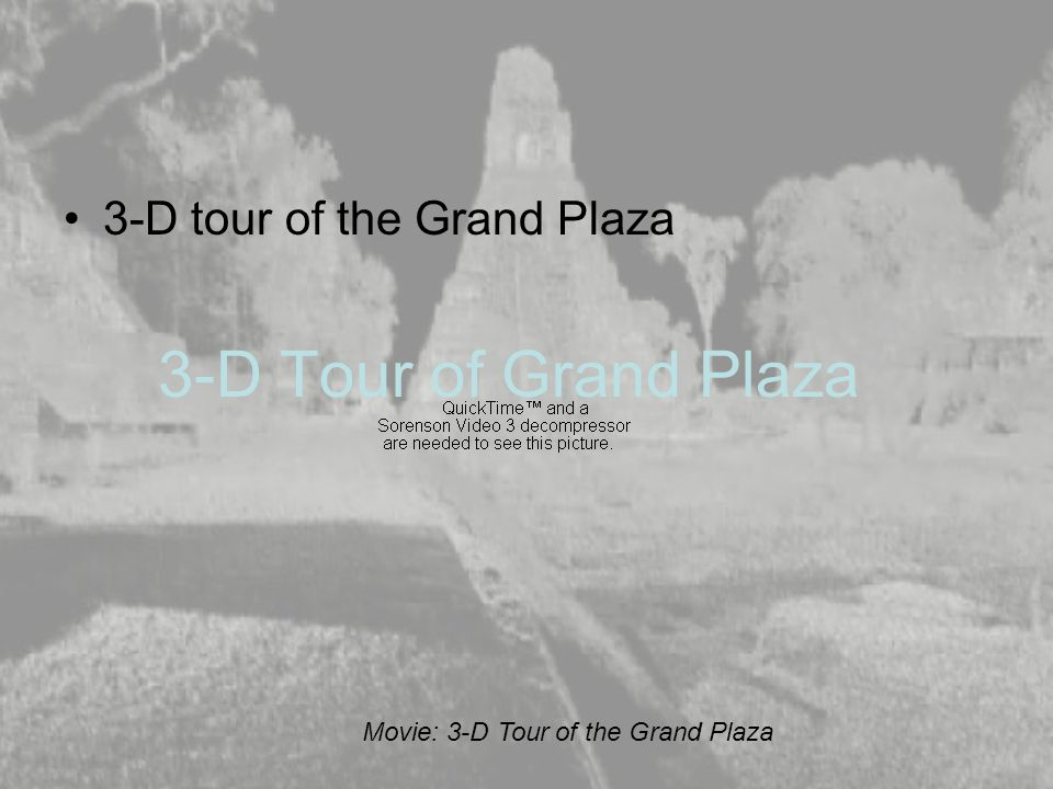 3-D Tour of Grand Plaza 3-D tour of the Grand Plaza