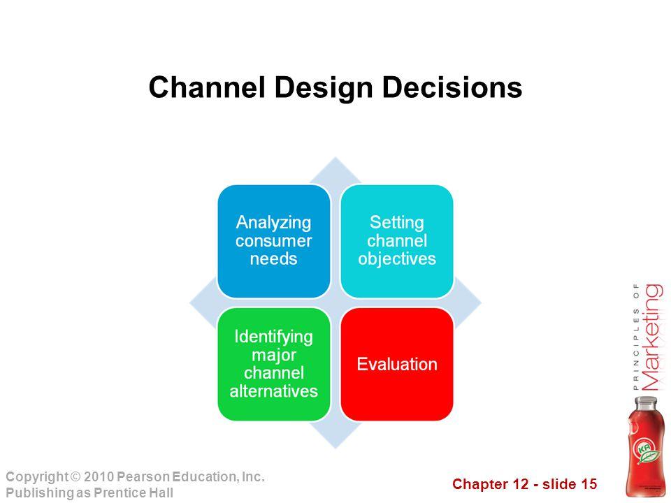 Channel Design Decisions
