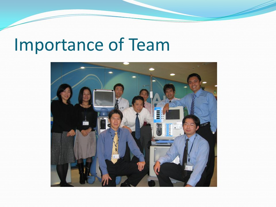 Importance of Team