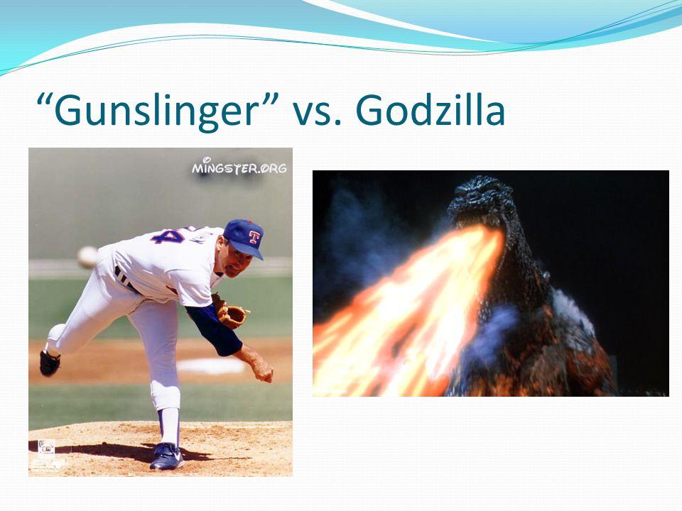 Gunslinger vs. Godzilla