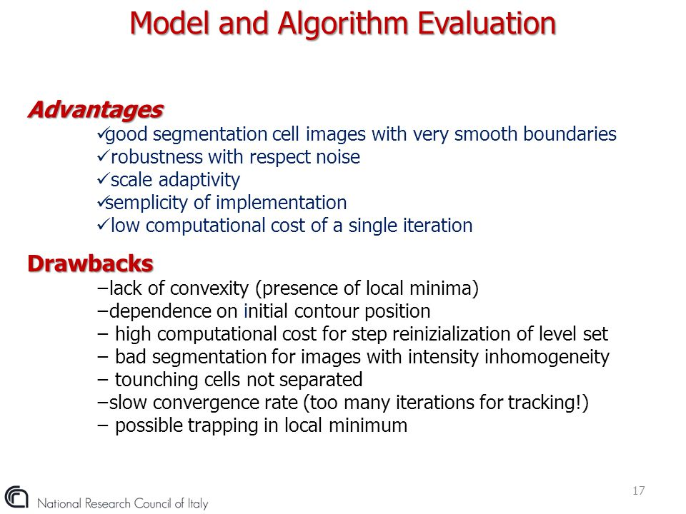 Model and Algorithm Evaluation