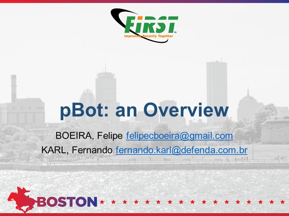pBot: an Overview BOEIRA, Felipe felipecboeira@gmail.com