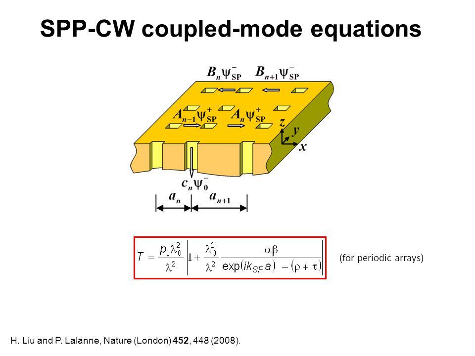 SPP-CW coupled-mode equations