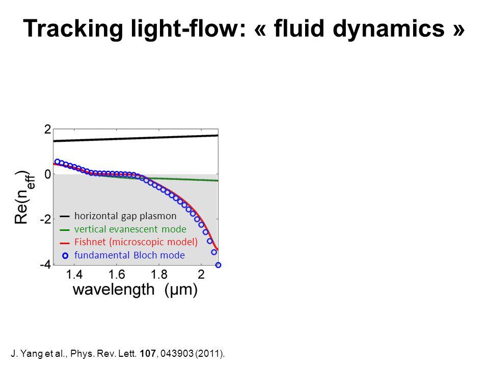 Tracking light-flow: « fluid dynamics »