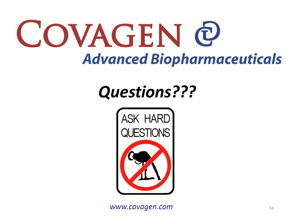 Questions www.covagen.com