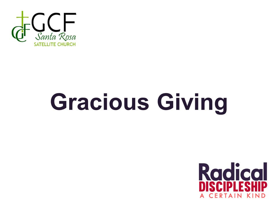 Gracious Giving