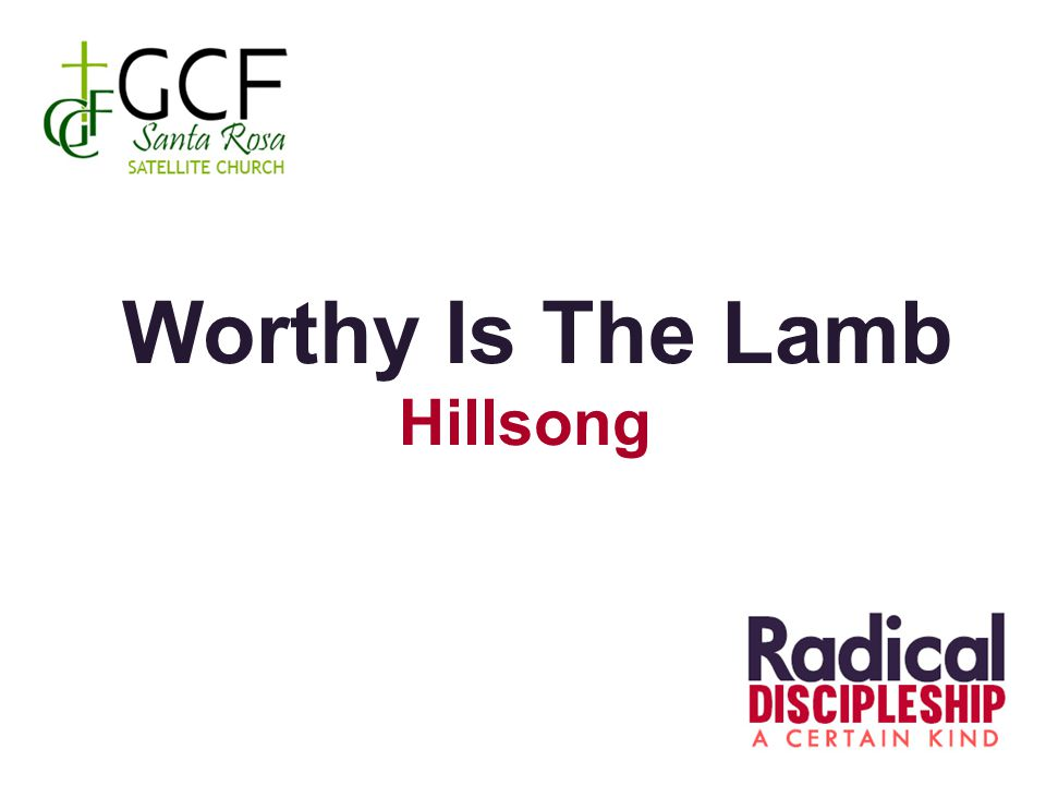 Worthy Is The Lamb Hillsong