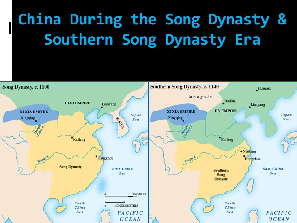 China During the Song Dynasty & Southern Song Dynasty Era
