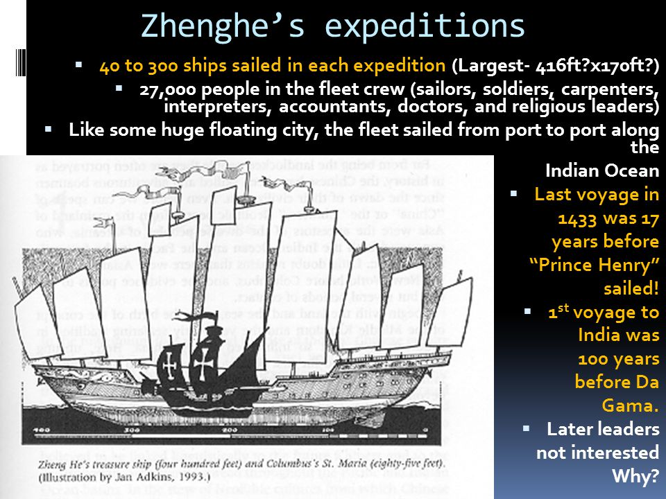 Zhenghe's expeditions