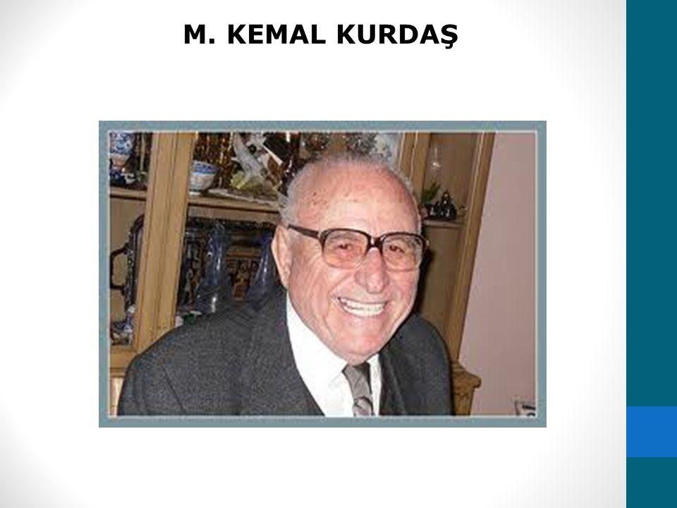 M. KEMAL KURDAŞ