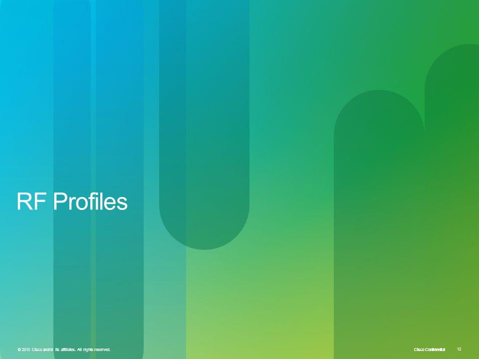 RF Profiles