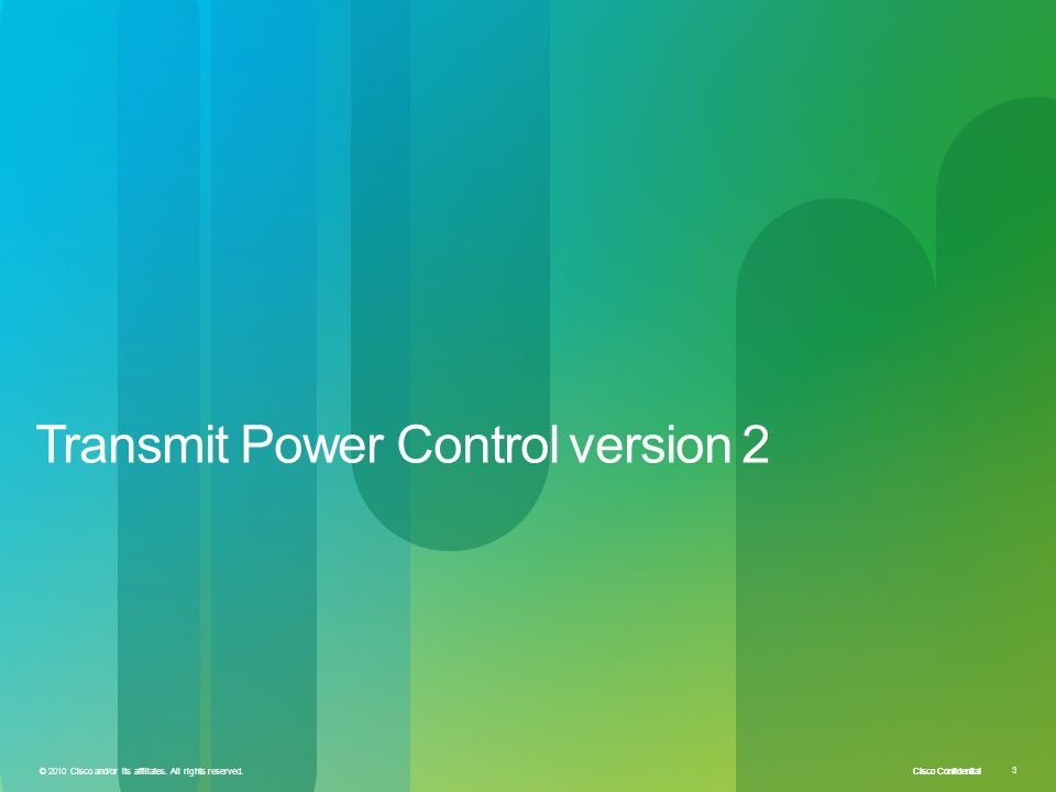 Transmit Power Control version 2