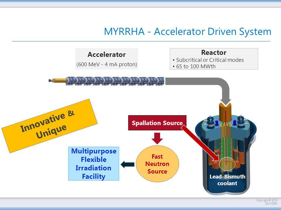 MYRRHA - Accelerator Driven System