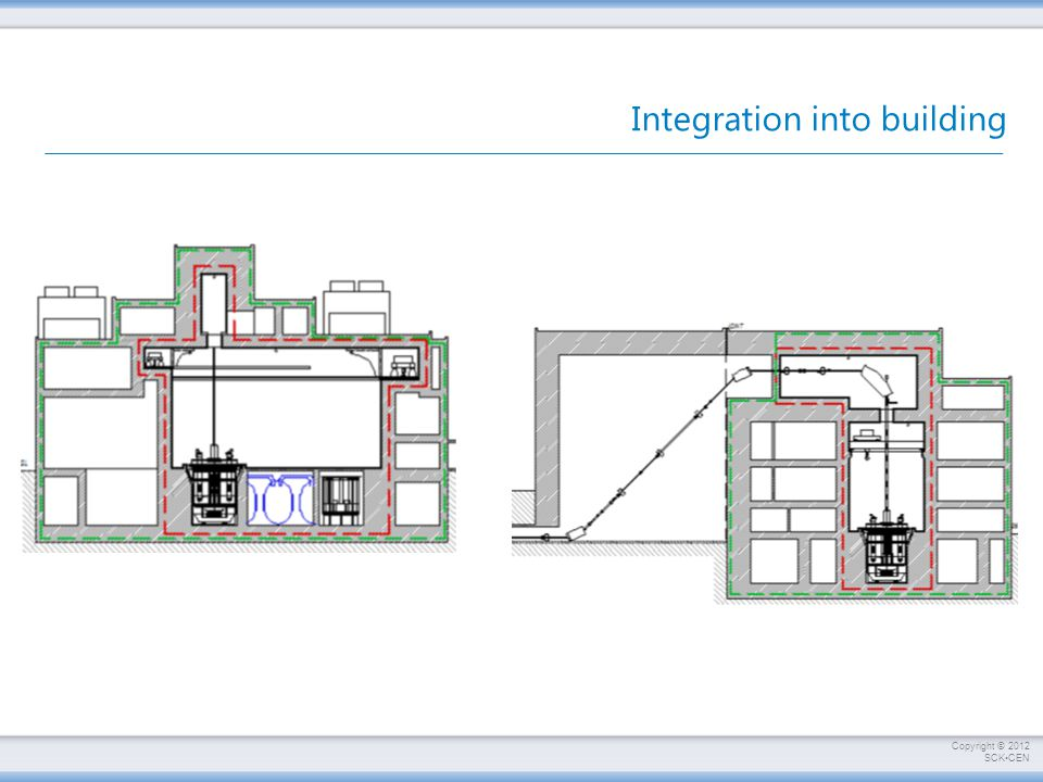 Integration into building