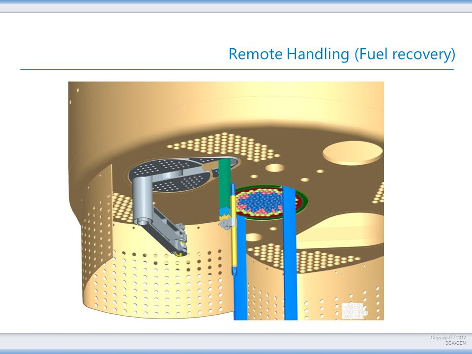 Remote Handling (Fuel recovery)