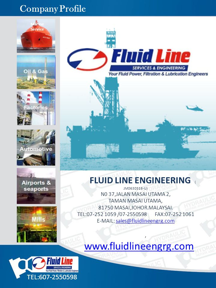 Company Profile FLUID LINE ENGINEERING ( JM0630516-U)