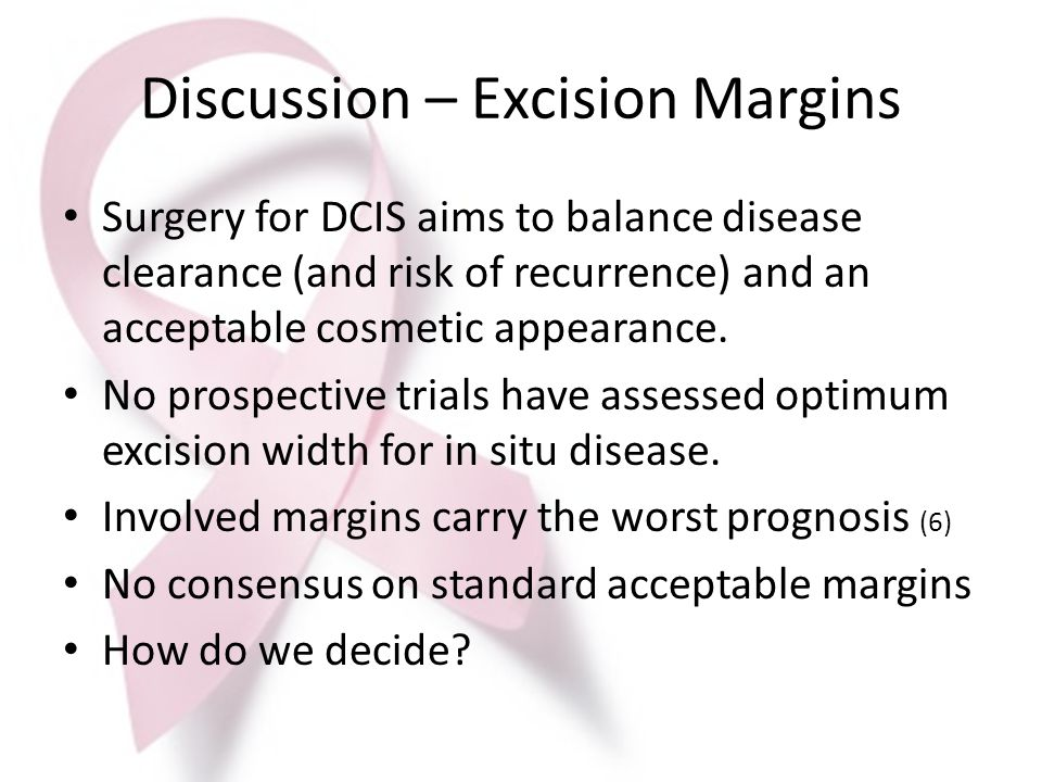 Discussion – Excision Margins