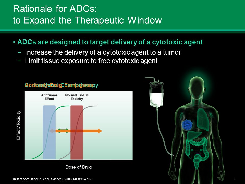 Rationale for ADCs: to Expand the Therapeutic Window