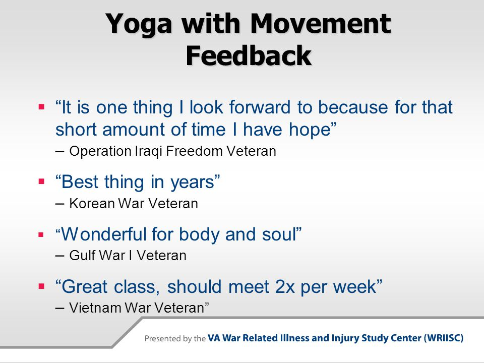 Yoga with Movement Feedback