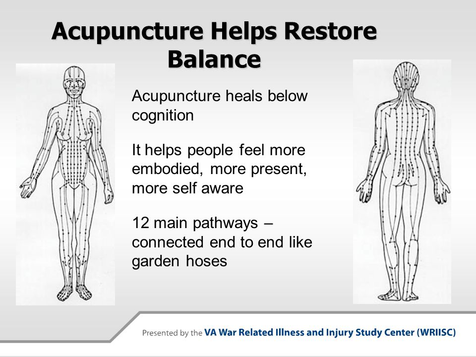 Acupuncture Helps Restore Balance