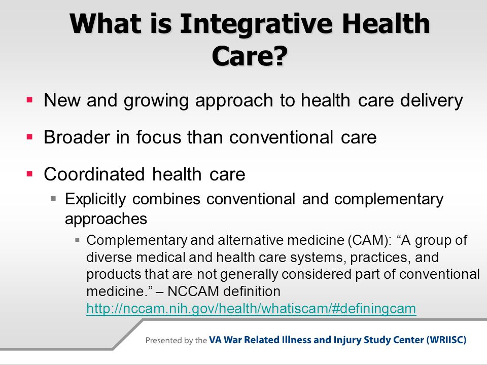 What is Integrative Health Care