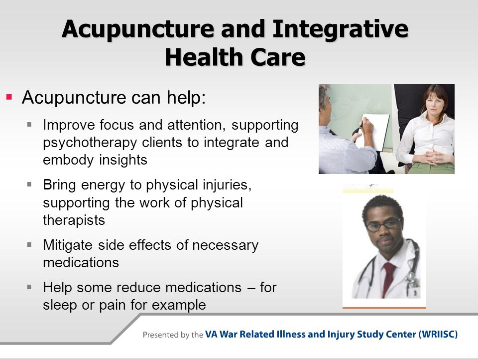 Acupuncture and Integrative Health Care