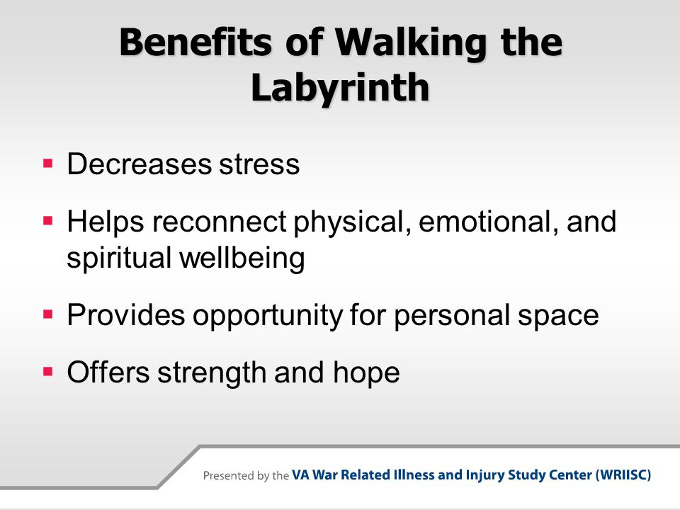 Benefits of Walking the Labyrinth