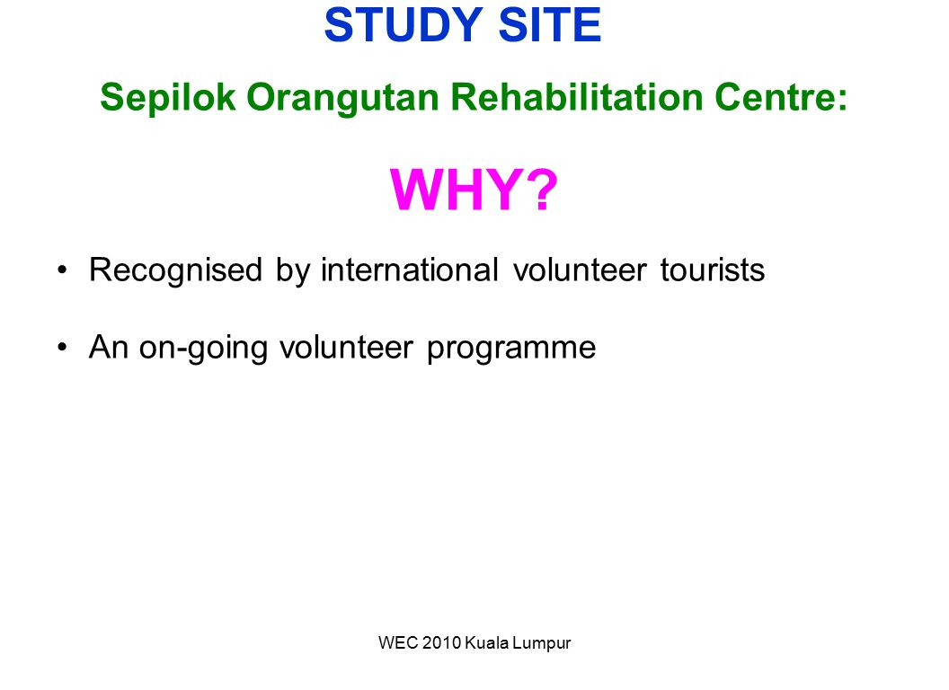 Sepilok Orangutan Rehabilitation Centre: