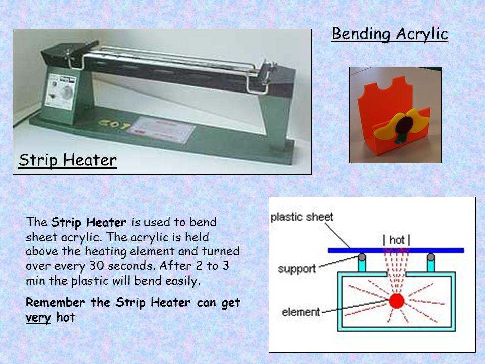 Bending Acrylic Strip Heater