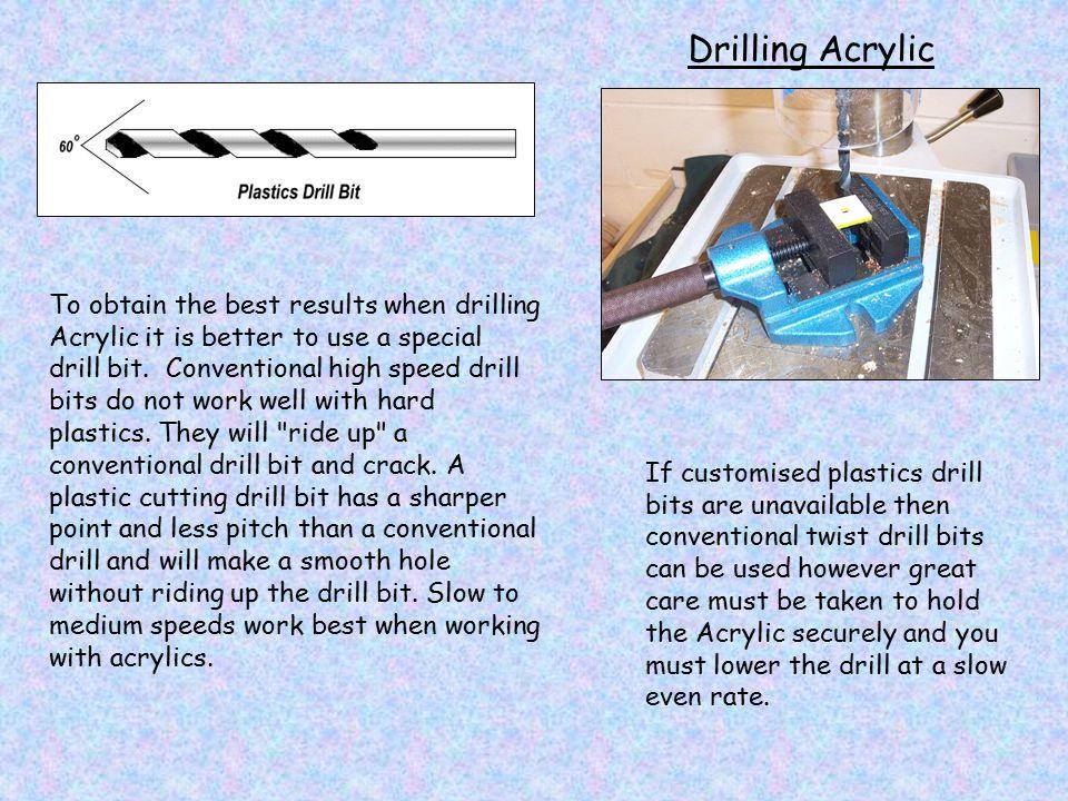Drilling Acrylic