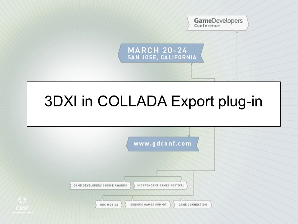 3DXI in COLLADA Export plug-in
