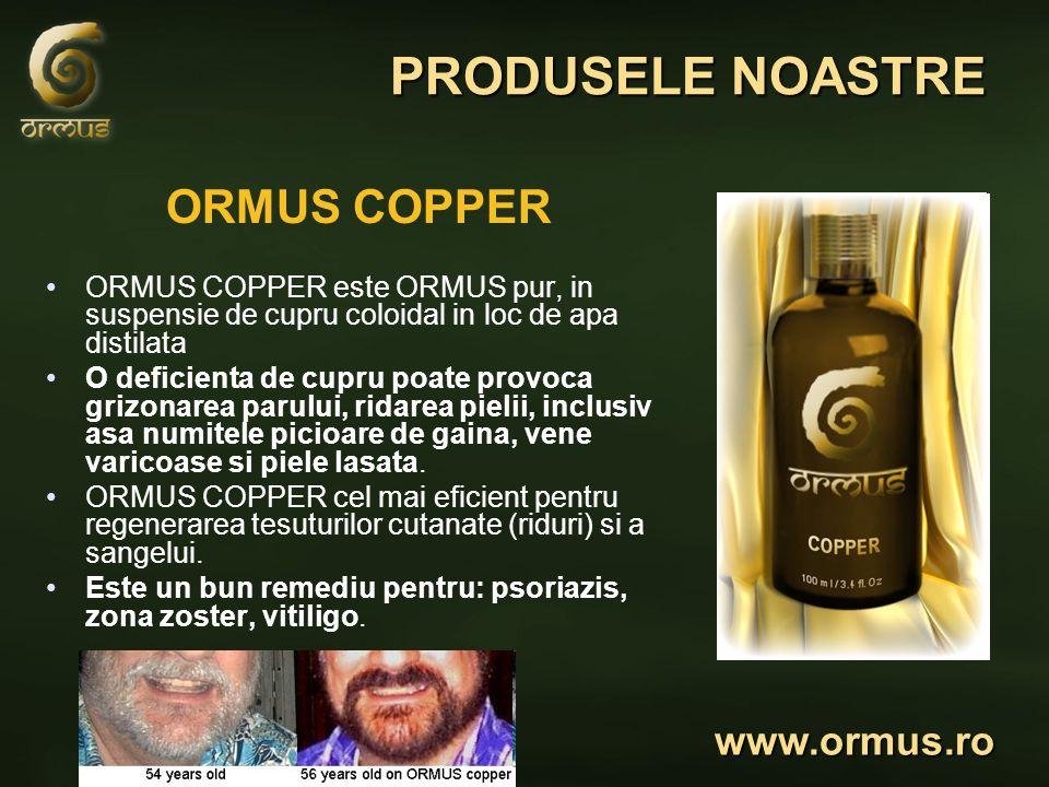 PRODUSELE NOASTRE ORMUS COPPER