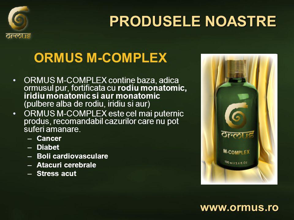 PRODUSELE NOASTRE ORMUS M-COMPLEX