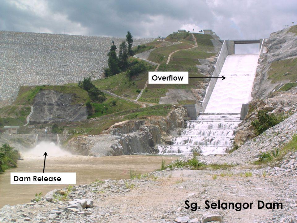 Overflow Dam Release Sg. Selangor Dam